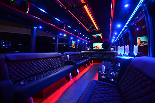 40 passenger party bus rental  mobile