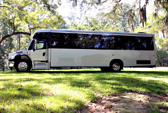 Mobile 40 Person Shuttle Bus